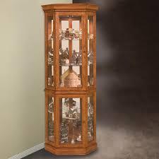 Corner Kitchen Curio Cabinet Inspiring French Antique Walnut Corner Cabinet For Display College