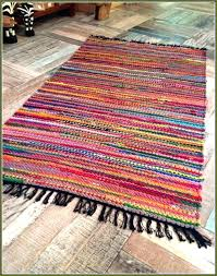 red rag rug cotton rag rug photo of rugs washable cotton rag rug red rag rug
