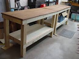 homemade metal workbench. workbench plans - diy from the experimental aircraft association homemade metal t