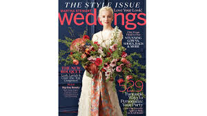 Go Inside Our Brand New Fall Issue Martha Stewart Weddings