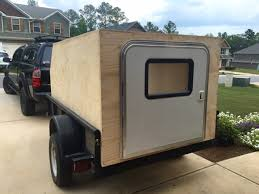 utility trailer teardrop off roadish camper build expedition portal