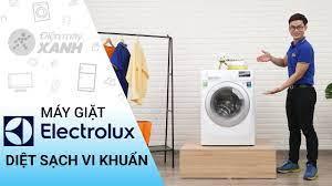 Máy giặt Electrolux Inverter 8 KG EWF10844: diệt sạch khuẩn bảo vệ làn da • Điện  máy XANH - YouTube