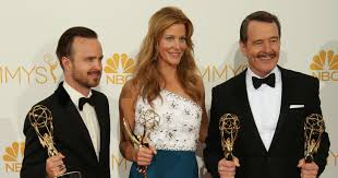 Breaking Bad Modern Family win big at Emmy Awards