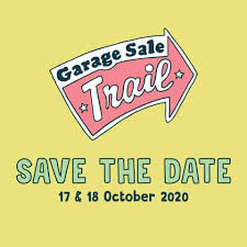 Save the date! Garage Sale Trail 2020 ...