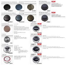 Center Cap Size Chart Mackin Industries Te37 Super Lap