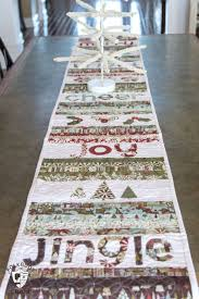 Quilted Table Runner Patterns Free Christmas