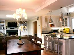 Small Kitchen And Dining Kitchen Dining And Living Room Design Ideas Design Small Living