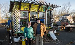 Village In Green Portland's Magazine House — Homeless Tiny Yes By Dignity Marcus Harrison Find A
