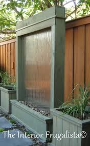 diy water wall via hometalker marie the interior frugalista