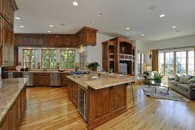Open Kitchen Living Room Open Kitchen Living Room Design Combined Kitchen Living Room