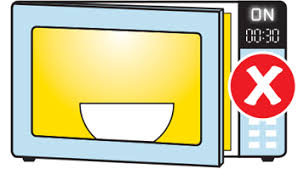 open microwave clipart. do not use a microwave with the door open (350x199) clipart