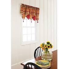 better homes and gardens valances. Beautiful Gardens Better Homes And Gardens Red Check Kitchen Valance 60 In W X 20 With And Valances T