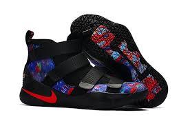 lebron shoes superman. nike lebron black big boys galaxy multicolor rainbow soldier xi shoes superman