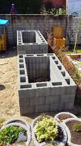 Tcm Bauen Ein Haus Hochbeet Steht