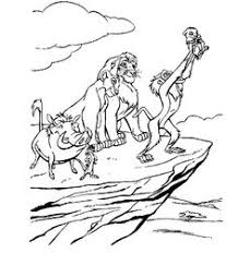 Small Picture Lion King Family Coloring Pages Printable craft mofon tastic