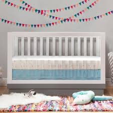 babyletto harlow in convertible crib in white acrylic free