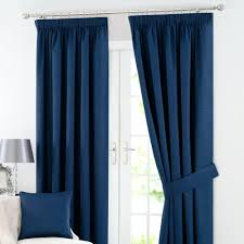 navy and white blackout curtains solar navy blackout pencil pleat curtains  percent off navy blue and