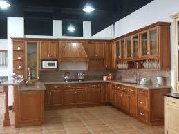 solid oak wood arched cabinet doors kitchen cupboard door hinges cream marble kitchen countertop ideas brown