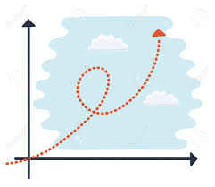 Exponential Growth Chart Vector Cartoon Illustration Of A Of A Generic Cartoon Character