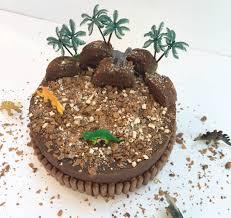 Dinosaur Land Birthday Cake Kit By Craft Crumb
