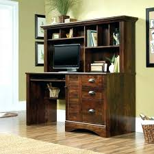 home office desk armoire. Sauder Desk Armoire Captivating Computer Desks Hutch Home Office Cabinet Compact Black Cinnamon Room .