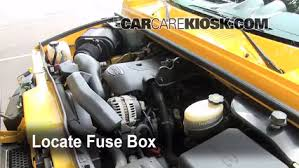 replace a fuse 2003 2009 hummer h2 2003 hummer h2 6 0l v8 locate engine fuse box and remove cover
