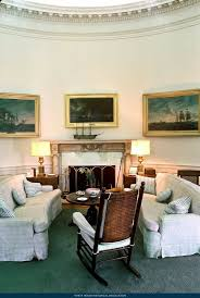 jfk liked relax his rocking chair the oval office history made lazy