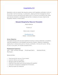 Hospitality Resume Skills List Hospitality Resume Template Resume
