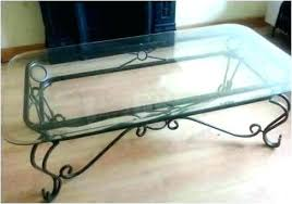 wrought iron and glass coffee table wrought iron glass coffee table and tables inspirational rod set