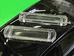 Police Car Light Bar For Sale 1 24 27 Lo Profile Style Led Lightbar 2 Pack For Model Police Cars 1521