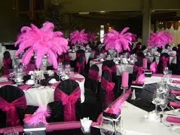 Enchanting Pink And Black Wedding Decorations For The 63 About Remodel Rent  Tables And Chairs For