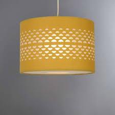 lighting shades ceilings. Hanbury Ochre Cut Out Shade Lighting Shades Ceilings
