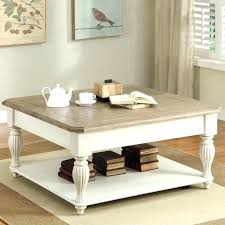 antique white coffee table with drawers medium size of round tables marble