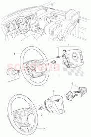 Airbag unit for steering wheel