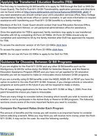 Understanding The Post 9 11 Gi Bill Pdf