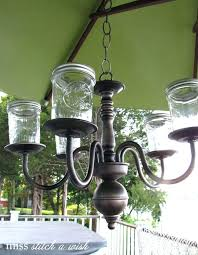 outdoor electric chandelier luxury candle chandelier non electric two make over outdoor i rustic garden oasis