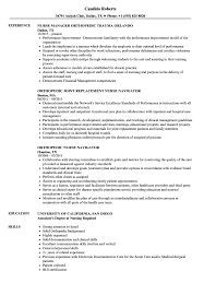 Orthopedic Nurse Resume Orthopedic Nurse Resume Samples Velvet Jobs 1