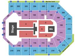 Citizens Bank Arena Seating Chart 13 Experienced Citizens Business Bank Arena Detailed Seating