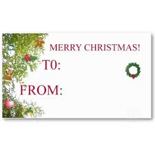 Holiday Gift Card Template Christmas Present Card Template Holiday Gift Certificate Template