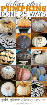 25 dollar pumpkins lots of fun ideas on how to makeover carvable dollar