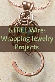 Wire Wrap Jewelry Patterns Magnificent Design
