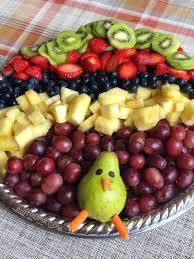 easy turkey fruit tray for thanksgiving an easy fruit appetizer idea