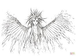 Small Picture Broken Angel coloring page Free Printable Coloring Pages