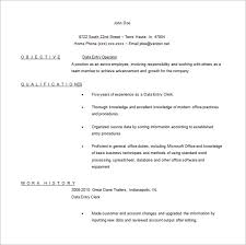 Data Entry Operator Sample Resume Ajrhinestonejewelry Com