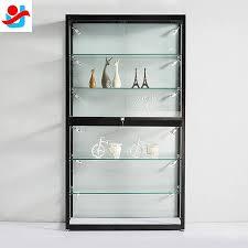 aluminium glass display showcase