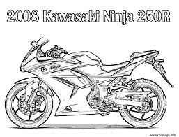 Coloriage Moto 147 Dessin