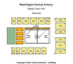 Armory Seating Chart Washington Avenue Armory Tickets In Albany New York Seating