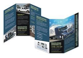 Tri Fold 6 Panel >> Transport Services Brochure | Brochure Design ...