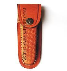 folding knife leather sheath