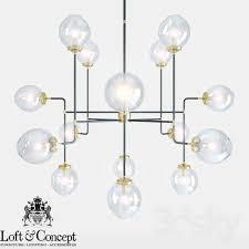chandelier bistro globe clear glass chandelier 16